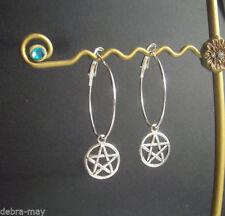 Handmade Alloy Hoop Costume Earrings