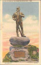 (iaa) Rutland VT: Statue in Honor of the Green Mountain