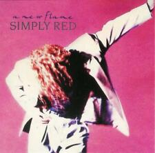 SIMPLY RED - A New Flame (CD 1989) EXC incl. If You Don't Know Me by Now