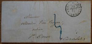 LAC en Port Payé de Paris avec rare càd Chambre des Pairs * du 12 février 1848