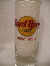 "NEW YORK Hard Rock Cafe 4"" Shooter Double Shot Glass"