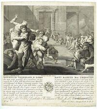 1796 Italia - Trieste - Venezia - F. Del Pedro - Galimberti - Storia Veneto
