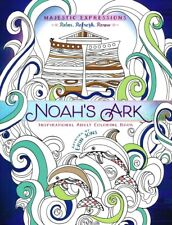 Noah's Ark -  Inspirational Adult Coloring Book (2016, Novelty Book)
