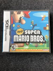 NINTENDO DS New Super Mario Bros (2006) Sammler rare Spiel Game