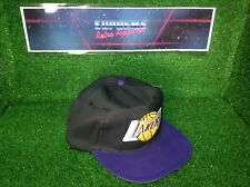 Vtg 80s Nba La Los Angeles Lakers Basketball Ajd SnapBack Cap Film Prop