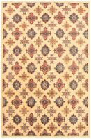 """Hand-knotted Carpet 6'6"""" x 9'11"""" Finest Gazni Traditional Wool Rug"""
