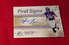 Yamon Figurs #74 Kansas State Upper Deck SP Chirograph Autographed 2007 Rookie