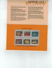 1985 Rare & Unusual Marine Life Series II  Post Office Pack MUH