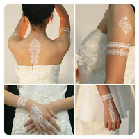 1pcs White Temporary Flash Lace Ink Henna Tattoo Inspired Body Makeup  New.
