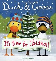 Duck & Goose, Its Time for Christmas! (Oversized Board Book) by Tad Hills