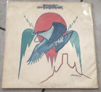 "EAGLES ""On The Border"" LP Vinyl, Textured Sleeve RARE"