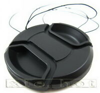 58mm Snap-On Front Lens Cap for Canon 18-55mm EOS Rebel 1200D 1100D 60D 700D