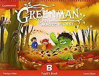 (15).GREENMAN B (5 AÑOS).PUPILS BOOK.MAGIC FOREST. ENVÍO URGENTE (ESPAÑA)