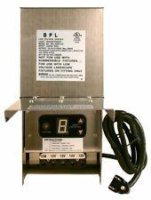 300 Watt Stainless Steel Low Voltage Landscape Transformer LED Bulb compatible