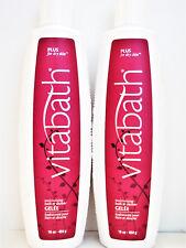 VITABATH PLUS for Dry Skin Moisturizing Bath Shower GELEE 16 oz/454 g NEW x2
