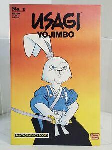 Usagi Yojimbo #1 - 1st Printing (1987) 8.5 VF+ Stan Sakai - Fantagraphics