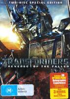 Transformers Revenge Of The Fallen ( DVD 2-Disc Special Edition ) 3 HOURS BONUS
