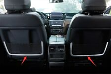 For Mercedes Benz GLE W166 C292 15-19 Rear Seat Back Storage Frame Cover Trim 2X