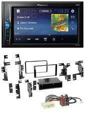 Pioneer 2DIN MP3 USB AUX Autoradio für Nissan Juke Navara NV ab 12