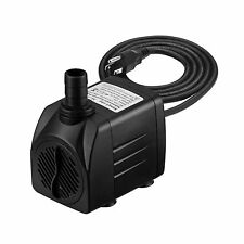 Homasy 400GPH Submersible Pump 25W Fountain Water Pump with For... Free Shipping