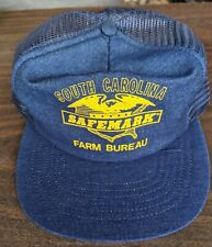 South Carolina Farm Bureau Safemark Mesh Trucker Hat Made In Usa. Eagle Logo