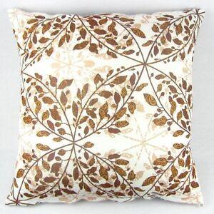 """Multi-colored Leaves Cotton Pillow Case Decor Cushion Cover 50cm Square 20"""" PI09"""
