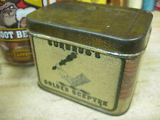 SURBRUG'S GOLDEN SCEPTRE SMOKING TOBACCO UNITED STATES TIN ORIGINAL POCKET