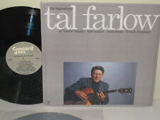 "TAL FARLOW - The Legendary ~ CONCORD 266 {nm} w/Sam Most, Strazzeri, ""Tootie"""