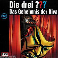Les Trois Point D'Interrogation ??? le Secret Diva #139 Pièce Radiophonique CD