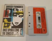 SIOUXSIE & THE BANSHEES ONCE UPON A TIMES THE SINGLES CASSETTE TAPE POLYDOR 1981