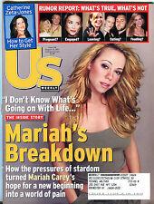 US Magazine August 13 2001 Mariah Carey Catherine Zeta-Jones EX 012216jhe