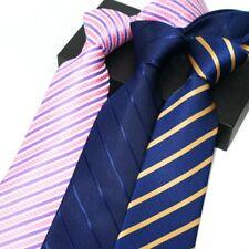 8CM Ties Men striped Neckties Classic Formal Mens Ties Social Event Business Tie