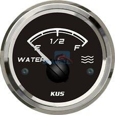 KUS Water Level Gauge Marine Boat Truck Car RV Water Indicator 52mm 0-190ohms