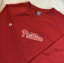 Phillies Majestic Therma Base Sweatshirt L