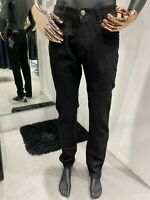 STEFANO RICCI slim fit Jeans Black Men's W38 L34  (100% Authentic & New)
