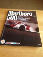 Marlboro 500 Michigan International Speedway Program 1988