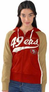 G-III 4Her San Francisco 49ers Women's All World Full Zip Hoody Sweatshirt