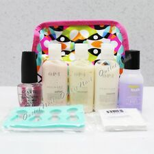 OPI Pedicure Kit 7 Mini- Start to Finish 0.5oz Soften Massage Smooth Remover 1oz