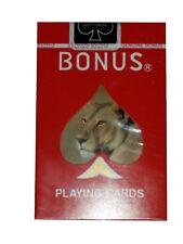 Bonus Bridge Deck Playing Cards Lioness Lion African Wild Life Bicycle