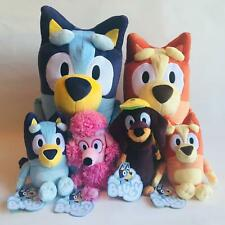 LICENSED BLUEY BINGO COCO SNICKERS DOGS 20cm plush toy ABC CARTOON DISNEY CHANEL
