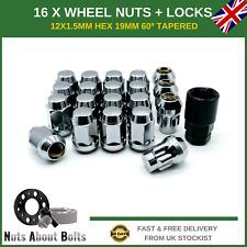 Ruota Nero Dadi /& Locks 12x1.5 bulloni per Chrysler PT Cruiser 99-10 12+4
