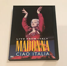 Madonna - Ciao Italia: Live From Italy Concert DVD (1999) True Blue Tour Music