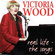 VICTORIA WOOD - Real Life - The Songs - Rare CD (Barry and Freda etc)