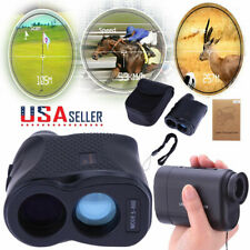 Waterproof 600M 6X LCD Telescope Laser Range Finder Hunting Distance Speed Meter