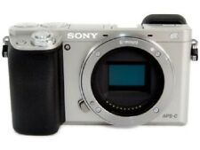 SONY A6000 Mirrorless Digital Camera Body Only Silver ILCE-6000 S Japan Model