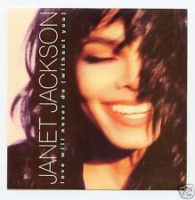 "Janet Jackson/Love Will Never Do (Without You) + 1 (UK/45 RPM 7"" Vinyl Record)"