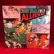 CROSBY STILLS NASH Allies 1983 USA issue VINYL LP + INNER EXCELLENT CONDITION