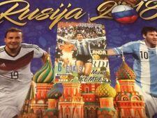 #482 Mario Kempes Argentina SchoolShop World Cup Russia 2018 sticker Valencia