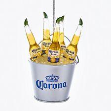 Corona Beer Bottles in Ice Bucket Christmas Tree Ornament Decoration CE2171 New