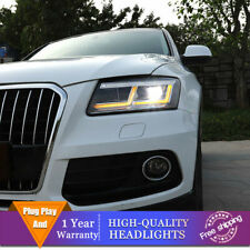 For Audi Q5 Headlights Double Lens Beam Projector HID LED DRL 2009-2018